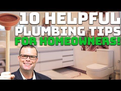 Top 10 Helpful Plumbing Tips for Homeowners!