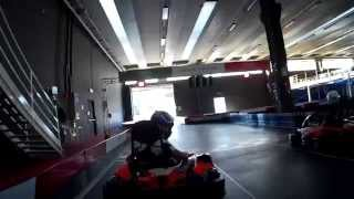 preview picture of video 'Pgk Camerano on board sj 1000 *Ale98* GO KART'