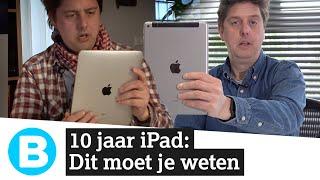 10 jaar iPad: de tablet is niet stuk te krijgen!