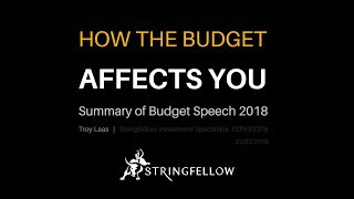 How the budget for 2018 affects your wallet