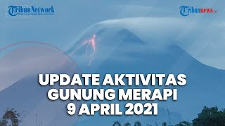 Aktivitas Gunung Merapi Jumat 9 April 2021, 15 Kali Guguran Lava Pijar, Jarak Luncur Hingga 1 Km