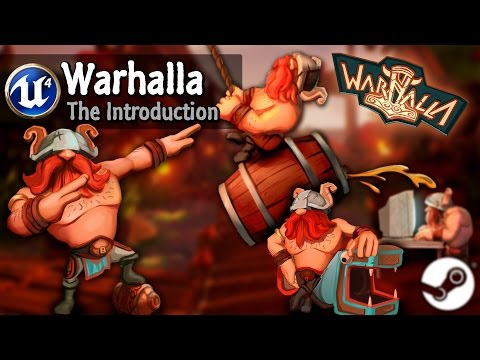 UE4] Warhalla - A fast paced 3rd Person Shooter — polycount