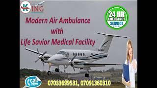 Patient Shifting King Air Ambulance Service in Varanasi at Low-Fare