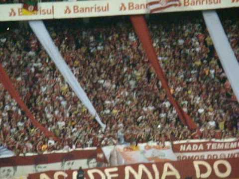 """""""Inter 2 x 1 Flamengo -Melhor Amigo - Guarda Popular Colorada - Copa Brasil 2009"""" Barra: Guarda Popular • Club: Internacional"""