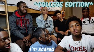 Asking College Guys Questions Girls Are Too Afraid To Ask!! | Zharia'Elizabeth