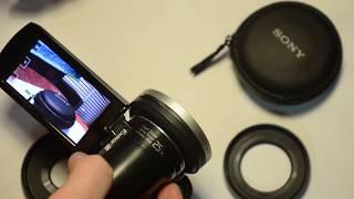 Sony VCL E07A 25, 30, 37 мм, 0,7x широкоугольный объектив