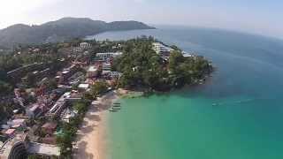 World famous Kata Beach