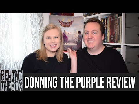 Donning the Purple - Behind the Box Review