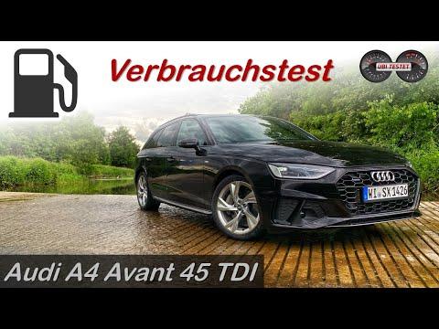 2020 Audi A4 Avant 45 TDI Quattro - Verbrauchstest | Review - Test - Fahrbericht