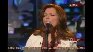 Martina McBride - Live '05 Imus in the Morning - Seven Song Medley