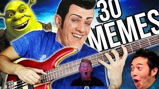 Legitness!!! - 30 Musical Memes in 2 minutes (Reaction)
