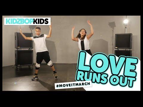 KIDZ BOP Kids - Love Runs Out (Dance Along)