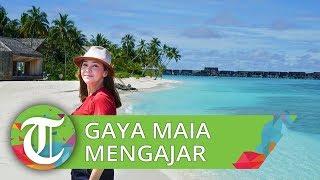 Jadi Dosen Tamu di Universitas Indonesia, Maia Estianty Pakai Gaya Kasual dan Sudah 2 Kali Mengajar