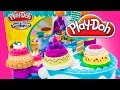 Play Doh Cake Makin' Station Bakery Playset Decorate Cakes Cupcakes Playdough Hasbro Toys