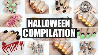 Spook-tacular Nail Art