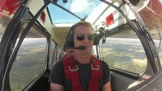Kunstflugausbildung in Tannheim Aerobatic Super Decathlon