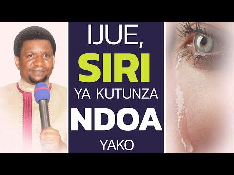 KIFO CHA MENDE CHA HARIBU NDOA ZA WATU!