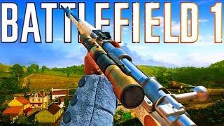 Sweet Spot Sniping was MAD 🤯 Battlefield 1
