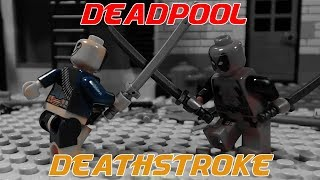 Deathstroke Vs Deadpool Lego