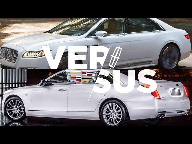 cadillac ct6 vs lincoln continental luxury sedan fight 16 mercedes s550 vs 16. Black Bedroom Furniture Sets. Home Design Ideas