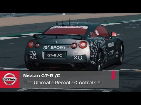 Nissan GT-R Playstation Kolu İle Kontrol Ettiler!
