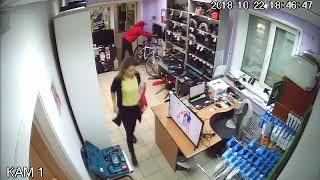МУ Братское кража ТВ из магазина с 1м47с до 1м53с ОП 2