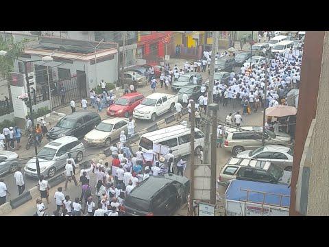 Catholic Protest In IKEJA