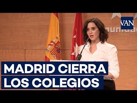, title :'Madrid cierra los colegios y recomienda el teletrabajo por el coronavirus'