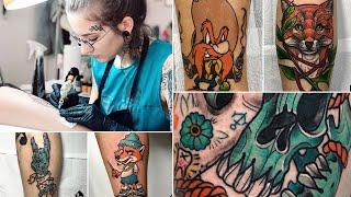 Favorite Leg Tattoos Time Lapse