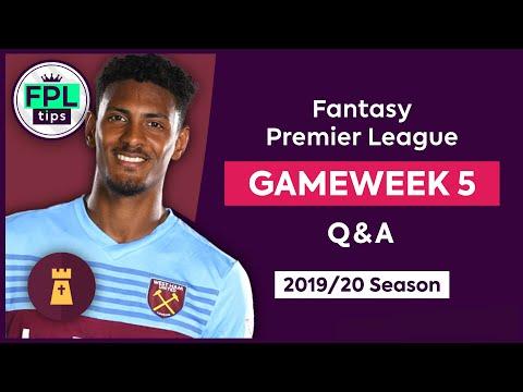GW5: FPL Q&A | Haller or Abraham? | Gameweek 5 | Fantasy Premier League Tips 2019/20