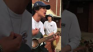Our awful cover of West Virginia by the front bottoms