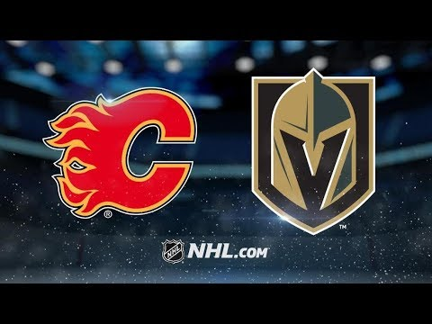 Calgary Flames vs Vegas Golden Knights | Oct.12, 2019 | NHL 19/20 |Game Highlights | Обзор матча