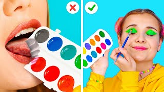 USEFUL LIFE HACKS FOR EVERY OCCASION! || Funny Tricks by 123 Go! Gold