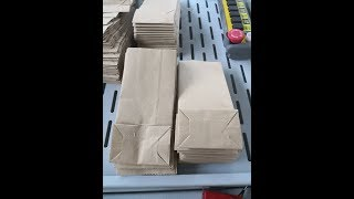 Brown Kraft Paper Bag Machine For Philippines Client