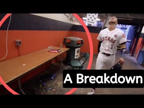 Proof That The Astros Are Stealing Signs