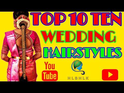 Top Ten 10 South indian Bridal Wedding Hairstyles