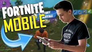FAST MOBILE BUILDER on iOS / 490+ Wins / Fortnite Mobile + Tips & Tricks!