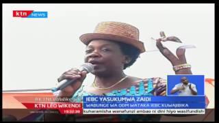 Viongozi wa ODM walisukuma tume ya uchaguzi kuhusu daftari la usajili