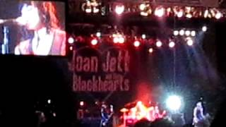 Joan Jett and the Blackhearts @ Seaside Summer Concert Coney Island Brooklyn NY 8/9/12 c