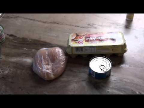 Przykład diety spalania tłuszczu