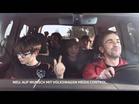Volkswagen  Caddy 4 Kombi Минивен класса M - рекламное видео 3
