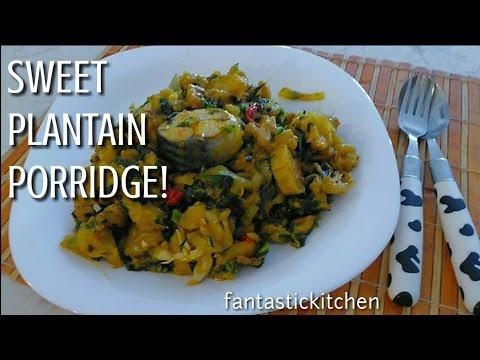 Plantain porridge made easy!