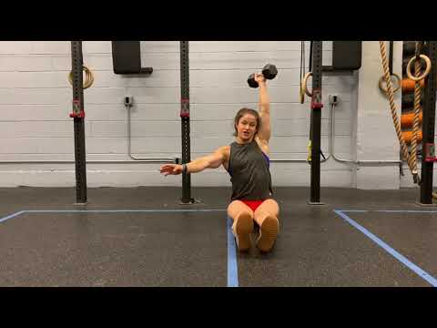 Weighted Sit-up (arms on chest)