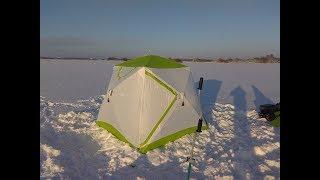Палатка зимняя лотос куб 3
