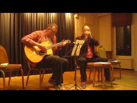 'How Can You Keep Moving (Unless you migrate too)' -  Phil and Pat at Chorlton Folk Club