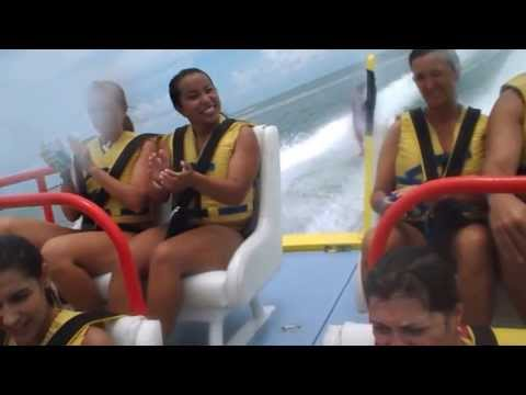 Twister Speed Boat Ride to Isla de la Pasion near Cozumel, Mexico