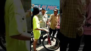 Thánh nữ trộm xe đạp còn thách thức gọi 113 và cái kết :)))))))