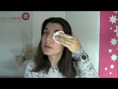 Desmaquillante de ojos casero para piel sensible 100% natural