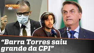 Bolsonaro ficou furioso com depoimento de Barra Torres?