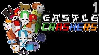 Castle Crashers |1| кооп прохождение ► УГАРАЕМ С САМОГО НАЧАЛА!